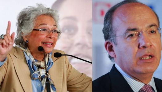 Calderón se hace el experto en leyes y Sánchez Cordero lo deja como ignorante