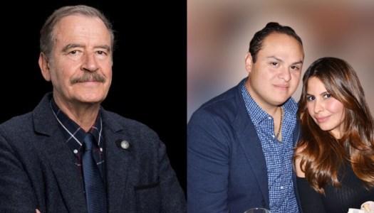 Gobierno de AMLO pone a temblar a Vicente Fox y a su hijo