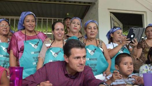 Con EPN, dinero para combatir el hambre se usó para comprar playeras