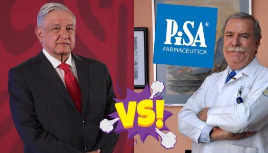 AMLO va contra PISA y director del Hospital Infantil por falta de medicinas a niños con cáncer
