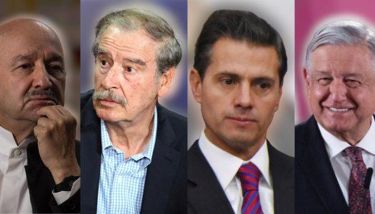 Salinas, Fox y EPN planean reunirse para complotear contra AMLO
