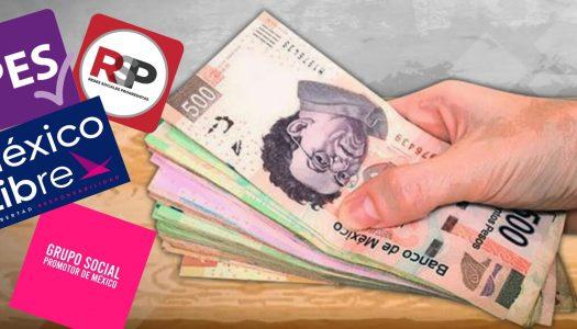 Nuevos partidos políticos costarían a mexicanos casi 100 millones