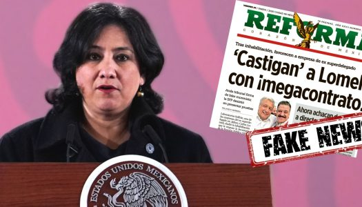 Reforma publica fake news en caso Lomelí; Irma Sandoval revela engaño