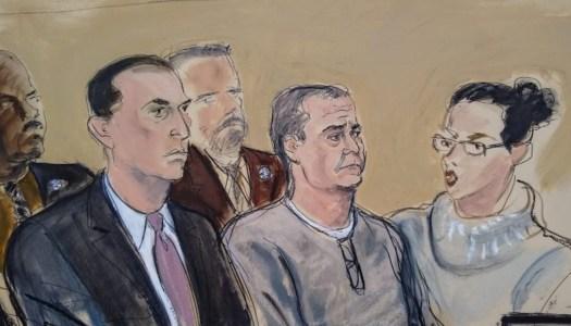 García Luna suelta el llanto en su comparecencia ante corte de NY