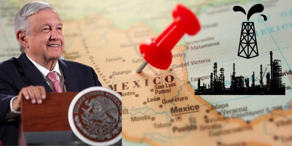 Descubren nuevo yacimiento de petróleo en México; AMLO lo celebra