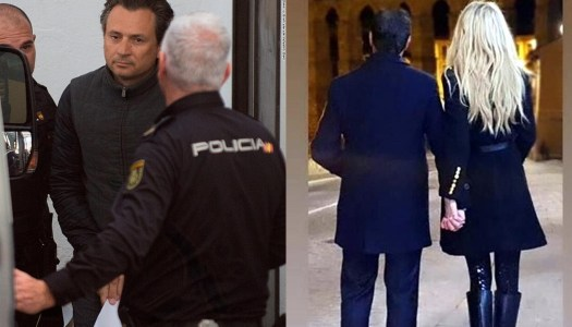 Mientras Lozoya va a la cárcel… Peña Nieto recibe consuelo de su novia