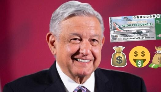 ¿Por qué debes comprar un cachito patriótico del avión presidencial?