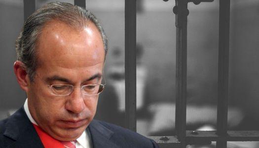 Miles piden encarcelar a Calderón para que ya no aterrorice a la gente