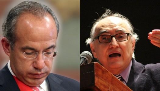Calderón será sacrificado por Estados Unidos: Alfredo Jalife