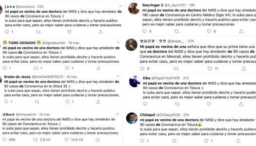 """""""Mi papá es vecino de una doctora"""": así es la guerra sucia en tiempos del COVID-19"""