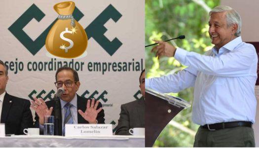 """Empresarios que exigen """"apoyo"""" a AMLO deben millones de impuestos"""