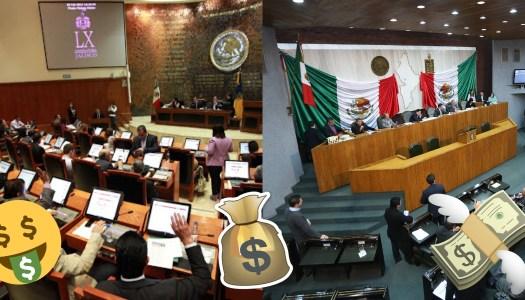 En plena pandemia diputados de Jalisco y Nuevo León derrochan dinero público