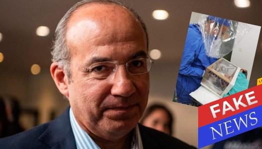 Calderón comparte fake news contra AMLO y tuiteros lo dejan en ridículo