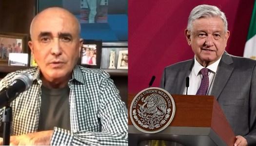 Ferriz de Con admite que le encantaría dar golpe de Estado contra AMLO
