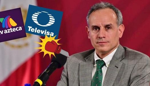 El rockstar López-Gatell hace añicos ratings de TV Azteca y Televisa