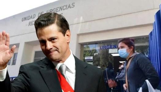 INER padece la corrupción de Peña Nieto, en medio del Covid-19