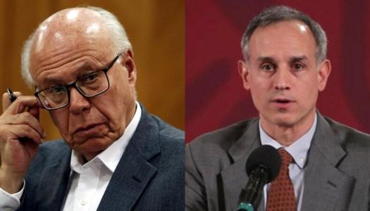 López-Gatell aprovecha pifia de reportera para acabarse a José Narro