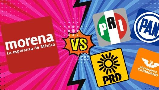 Morena derrotaría aplastantemente al  PRIANRD en las elecciones