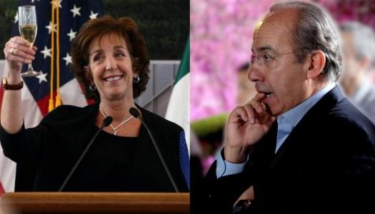 Calderón se hace el occiso; insiste en que no sabía nada de García Luna
