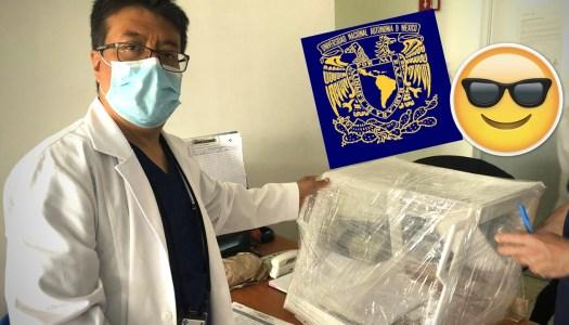 UNAM solidaria: universitarios crean cajas Protectoras contra el Covid-19