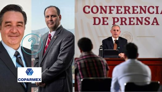 La Coparmex ¿detrás del intento por suspender conferencias de López-Gatell?