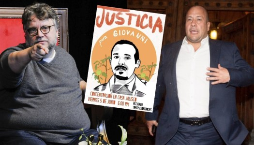 Guillermo del Toro protesta contra Alfaro por homicidio de Giovanni