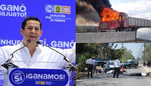 Crisis de violencia en Guanajuato, producto de 30 años del corrupto PAN