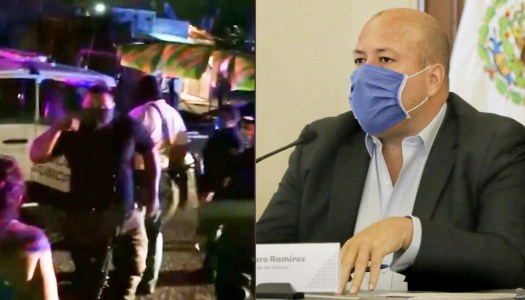 Policías matan a hombre por no usar cubrebocas en el Jalisco de Alfaro