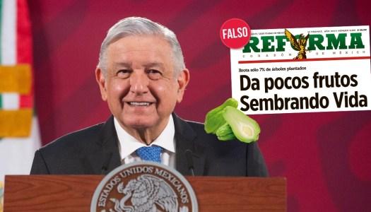 """AMLO exhibe a Reforma: son """"obvios y predecibles"""""""