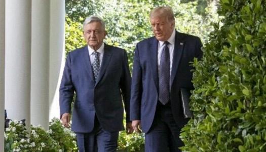 EN VIVO: AMLO y Trump dan un segundo mensaje a los medios