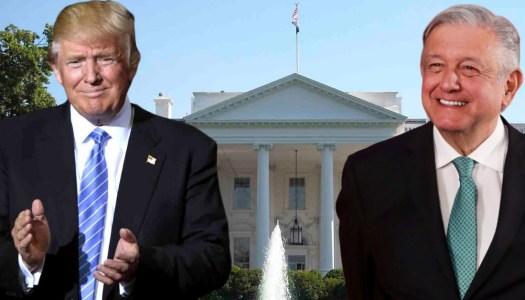 Trump ya está listo para darle la bienvenida a AMLO en la Casa Blanca