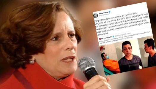 Denise Dresser culpa a AMLO por golpiza a enfermero de Argentina