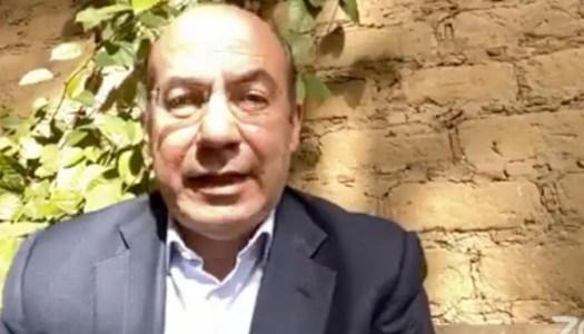 """Calderón dice que AMLO no está en sus """"cabales""""; pide derrotar """"autoritarios"""" por vía armada"""