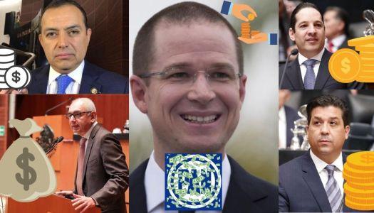 Anaya y el PAN recibieron millonarios sobornos para aprobar reformas de EPN