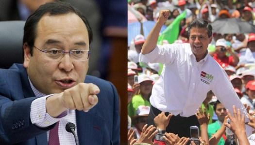 Murayama quiere dar carpetazo en el INE a campaña ilegal de Peña Nieto