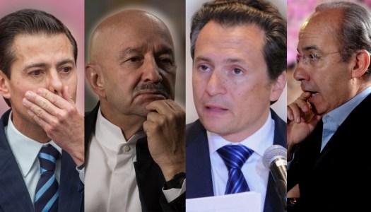 ¿Ex presidentes a la cárcel? Lozoya denuncia a Salinas, Peña y Calderón