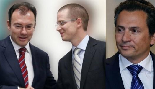"""Videgaray sobornó al """"opositor"""" Anaya y 6 años después, Lozoya acabó con él"""