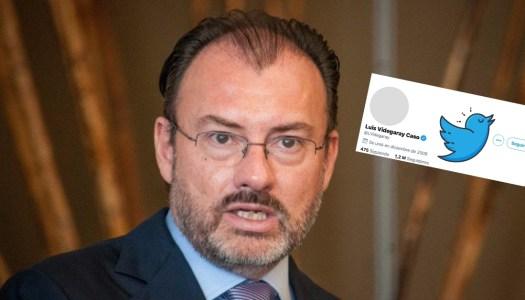 En medio de la polémica, Videgaray quita su foto de perfil en Twitter