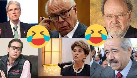 """¡Cínicos! 6 exsecretarios de salud dan """"recetas para salir"""" de la pandemia"""