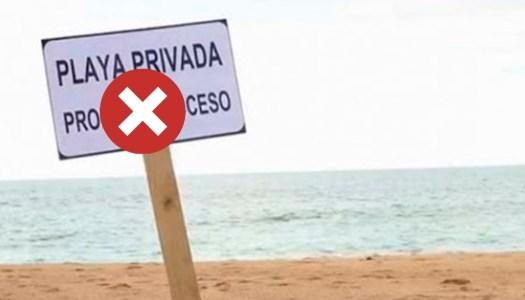 Con la 4T, multarán hasta con un millón a quien prohíba acceso a playas