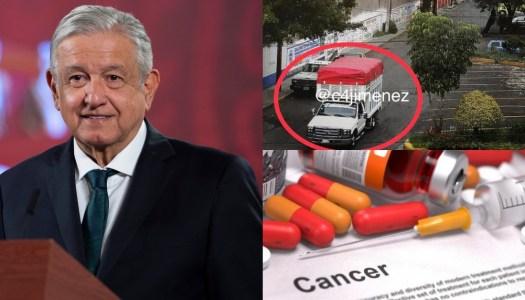 Sabotaje a la 4T: roban bodega de medicamentos para niños con cáncer