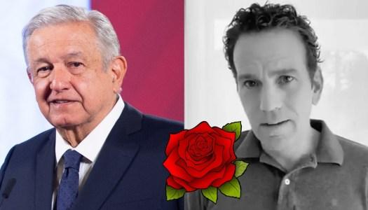 AMLO asegura que no tocará a Loret ni con el pétalo de una rosa