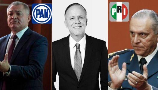 La oposición, entre García Luna y Cienfuegos; Ciro, ¿defensor de narcos?