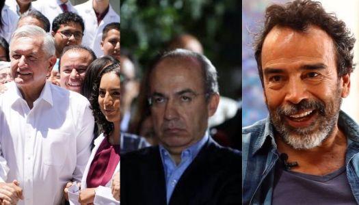 Anuncia Damián Alcázar película sobre AMLO y la oposición estalla