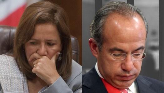 Margarita Zavala ya ve en prisión a Felipe Calderón