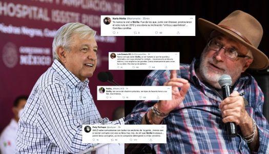 Javier Sicilia hace comentario clasista para atacar a AMLO y la gente se lo acaba