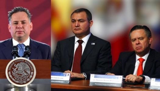 Santiago Nieto revela que García Luna y Medina Mora eran socios de empresas en Panamá