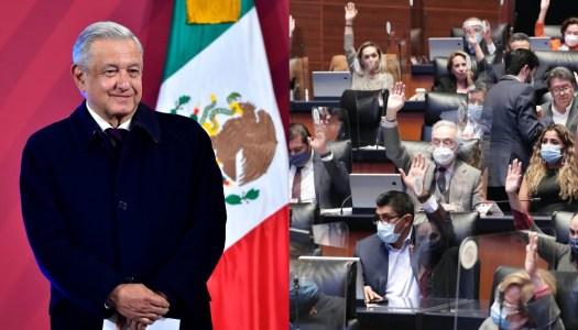 AMLO cumple su promesa: Senado elimina el fuero para los presidentes