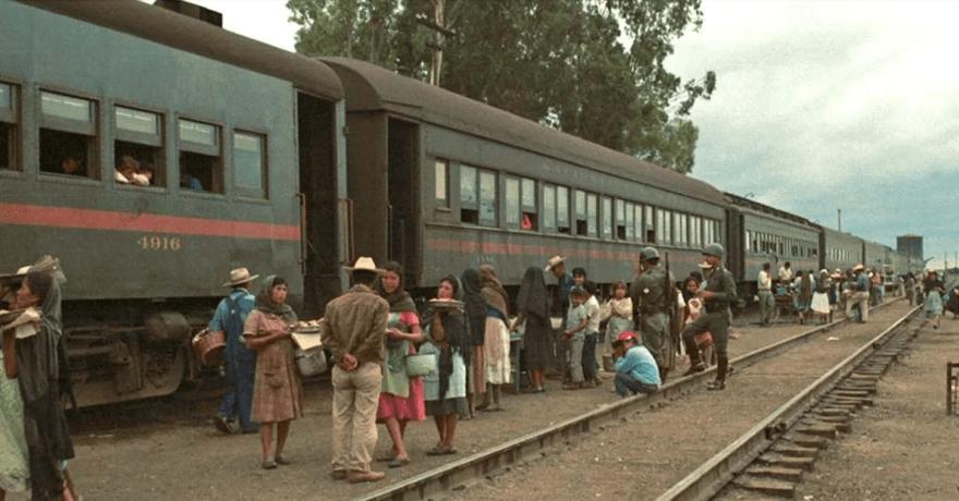 Ferrocarriles mexicanos.