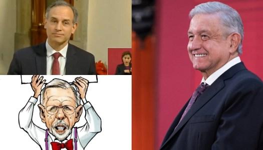 AMLO defiende a López-Gatell y se lanza contra López Dóriga y Televisa